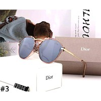 Dior 2019 new personality female color film polarized sunglasses #3