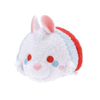 1 X EXCLUSIVE Disney Store Mini Tsum Tsum Alice In Wonderland White Rabbit