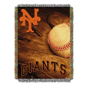 "SF Giants   """"Vintage"""" 48x60 Tapestry Throw"
