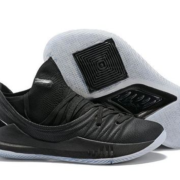 Under Armour Sc30 Stephen Curry 5 Low Black Basketball Shoe   Best Deal Online