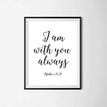 Bible Verse Print, quote art, inspirational quote, Typography, Quote wall art quotes, quotes poster, poster quote, quote print