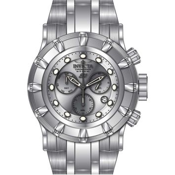 Invicta Men's 23950 S1 Rally Quartz Chronograph Silver Dial Watch