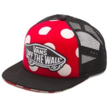 VANS - Vans Women's Hat - Beach Girl Trucker - Red - One Size