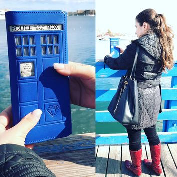 Doctor Who 5.0 Tardis Wallet + RFID