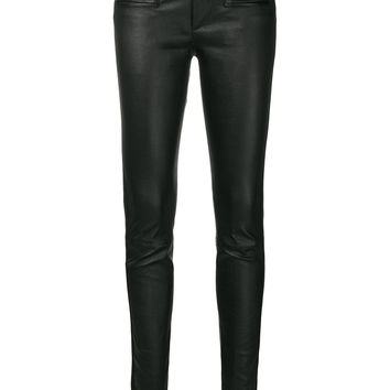 Haider Ackermann Slim Fit Trousers - Farfetch