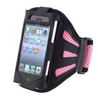 eForCity PINK SPORT GRM ARMBAND CASE COVER Compatible With iPhone® 3GS 4G iPhone® 4S - AT&T, Sprint, Version 16GB 32GB 64GB