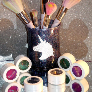 Unicorn Makeup Brush Holder - YOU CUSTOMIZE!