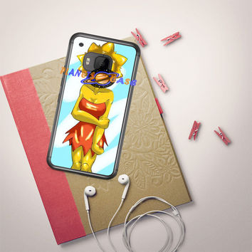 Lisa Simpsons Art HTC One M9 Case Planetscase.com