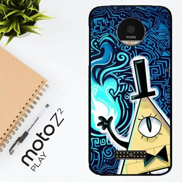 Gravity Falls Bill Cipher  X4424 Motorola Moto Z2 Play Case