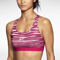 Nike Pro Classic Tiger Women's Sports Bra - Fuchsia Force