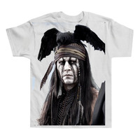 Luxury Lone Ranger Johnny Depp Shirt