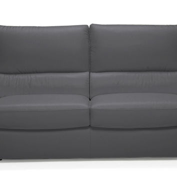 Versa Full Leather Sleeper Sofa By Natuzzi Editions With Greenpl