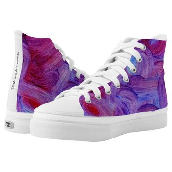 Loops High-Top Sneakers