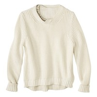 3.1 Phillip Lim for Target® Sparkle Sweater -Cream