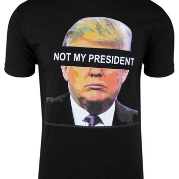 Donald Trump Not my President funny anti Impeach Presidential adult t-shirt