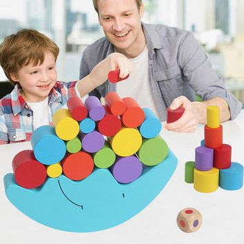 New 1 Set Baby Children Toys Moon Balance Game and Games Toy for 2-4 year old Girl & boy