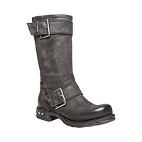 Steve Madden - SMUDGE BLACK LEATHER