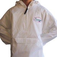 Lacrosse Fleece Lined Windbreaker: Sticks on Hood - Sportabella, Ltd Store