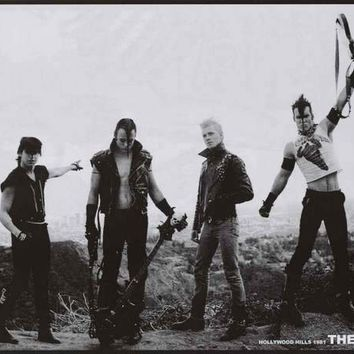 The Misfits Hollywood Hills 1981 Poster 24x33