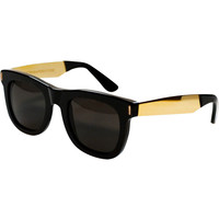 Super Francis Ciccio Black Gold Sunglasses