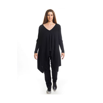 MAT Oversized Asymmetrical Sweater