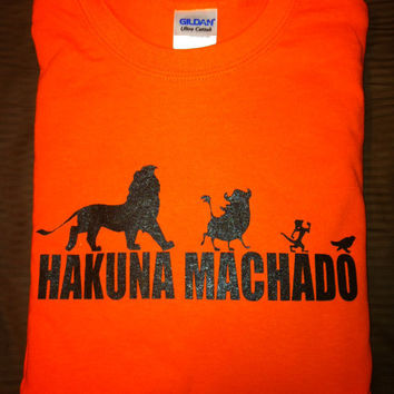 Hakuna Machado T-Shirt...Manny Machado - Baltimore Orioles Size Small