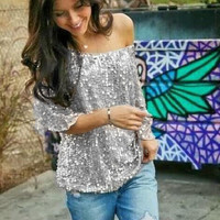 Casual Patchwork T-shirts [10389907981]