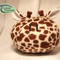 Giraffe Stuffed Animal Plushie Clannad Cosplaying Dango - Safari Theme - Bean/Fiber Mix