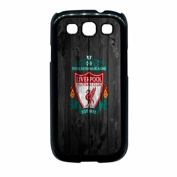Liverpool FC Wood Style Samsung Galaxy S3 Case