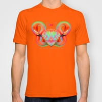 Infinite Possibilities - (Neon Infinity Flamingo) T-shirt by soaring anchor designs ⚓
