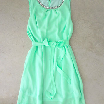 Meadow Grass Party Dress