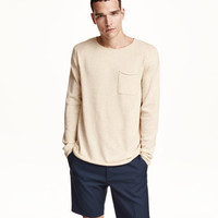 H&M Fine-knit Cotton Sweater $24.99