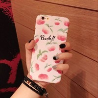 """Peachy"" Fruit Phone Case"