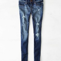 AEO Women's Jegging (Dark Destroy)