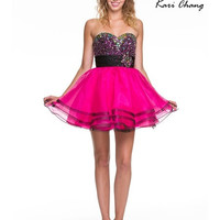 Kari Chang YC1434 Homecoming Cocktail Dress