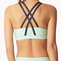 Medium Impact - Heathered Sports Bra