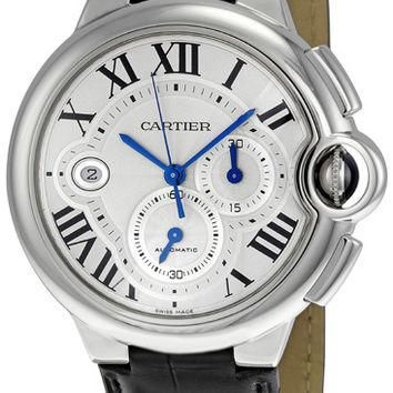 Cartier Ballon Bleu Mens Chronograph Automatic Watch W6920003