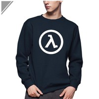 Winter Dress Fashion Half Life Printed Sweatshirt Men Cotton Hoodies Mens Clothing With Long Sleeve Tracksuit For Men Pullover
