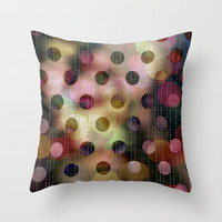 Zeroes and Ones Throw Pillow by Angelo Cerantola | Society6
