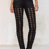 Tripp NYC The Medieval Lace-Up Pant