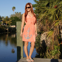 Shore Side Absolute Comfort Anchor Tank Dress
