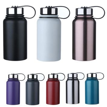 600ml 304 Stainless Steel Vacuum Cup Outdoor Vehicle-mounted Water Cup Bottle for Outdoor Cycling Camping Hiking