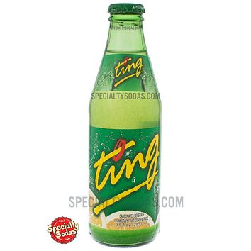 Ting Carbonated Beverage 285ml Glass Bottle