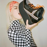 Just A Quickie Qozmo Platform Sneakers