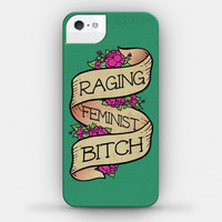 RAGING FEMINIST BITCH Cell Phone Case