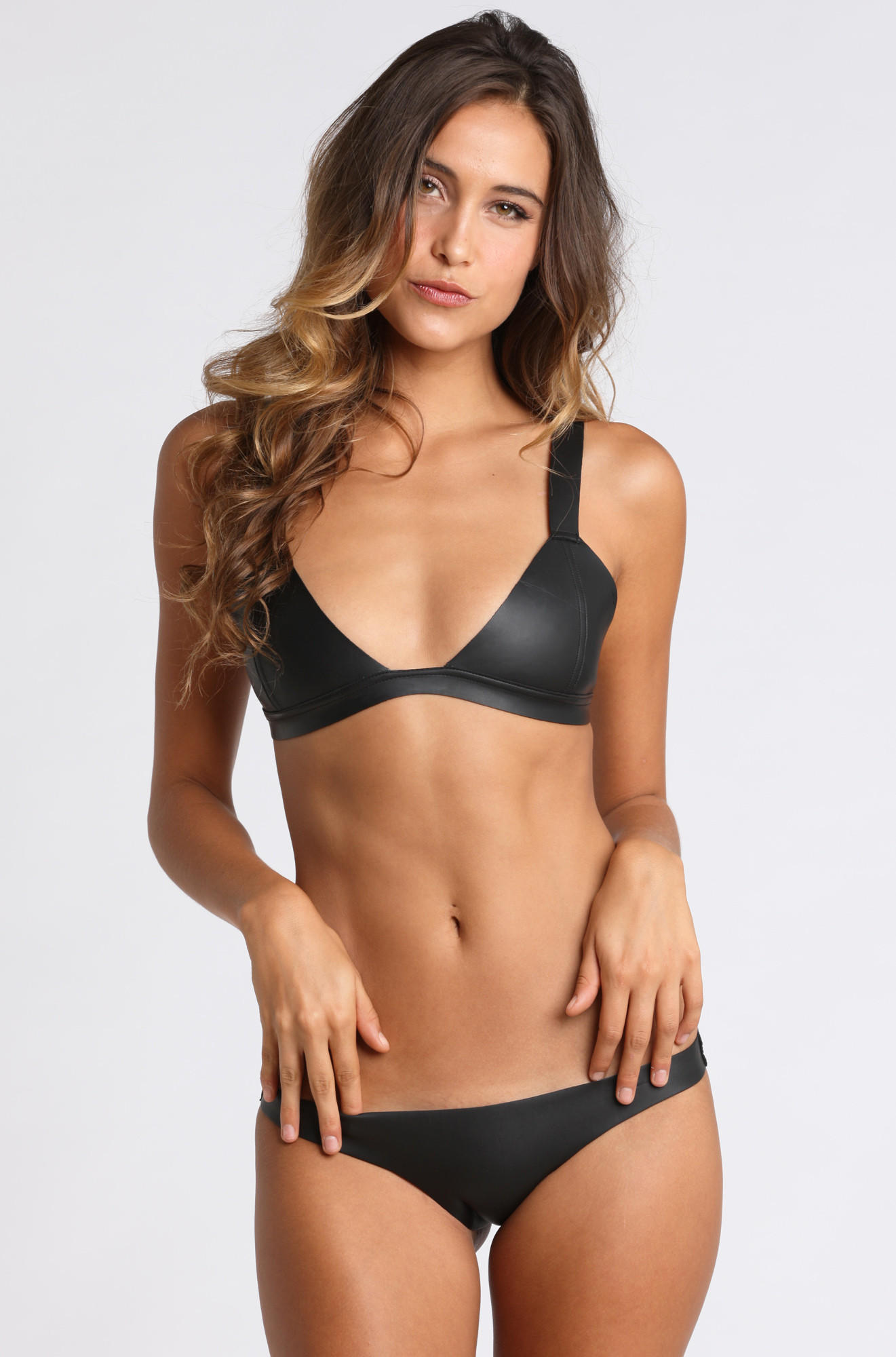Hana Neoprene Bikini Top From ISHINE365