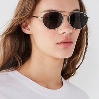 Quay Little J Aviator Sunglasses | Urban Outfitters