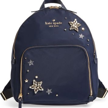 kate spade new york watson lane - hartley embellished nylon backpack | Nordstrom