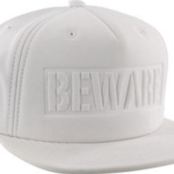 Grizzly Beware Hat Adjustable White