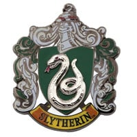 Universal Studios Wizarding Harry Potter Slytherin Crest Pin on Pin New W Card